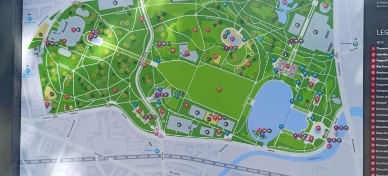 Rauswege — Pilgern im Stadtpark
